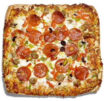 DiGiorno For One Supreme Pizza With Garlic Bread Crust