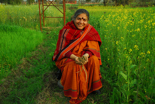 Dr Vandana Shiva Speaks Out For Mother Nature