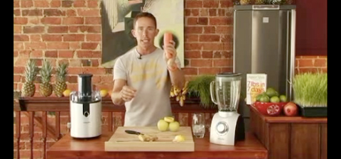 Lemon Ginger Zinger Juice (Video)