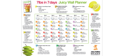 juicing weight loss plan free