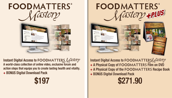Own Food Matters Mastery Today!!