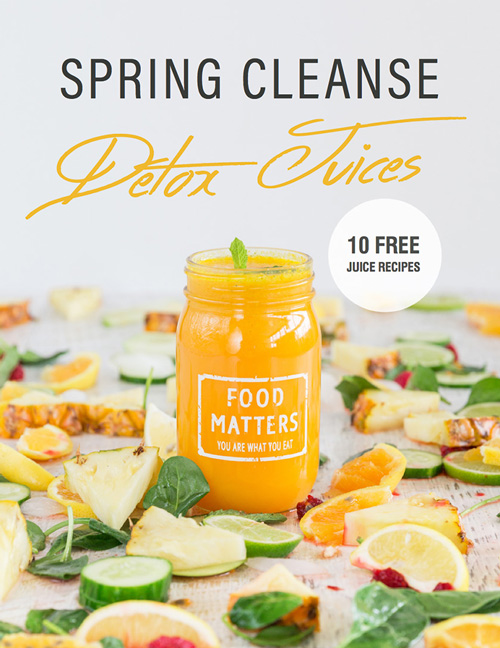 Slow Juicer Recipes For Detox : Food Matters Juice Recipes E-Book FOOD MATTERS