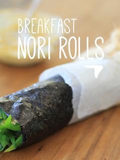 Breakfast Nori Rolls