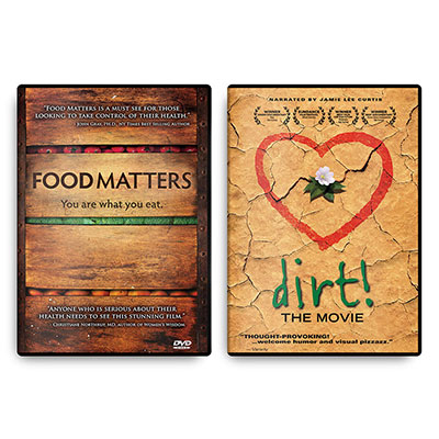 Dirt! The Movie DVD & Food Matters DVD