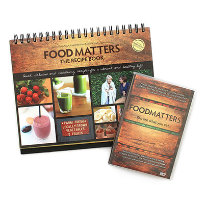 Food Matters DVD and Recipe Book
