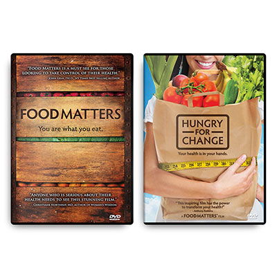 Food Matters DVD and Hungry For Change DVD