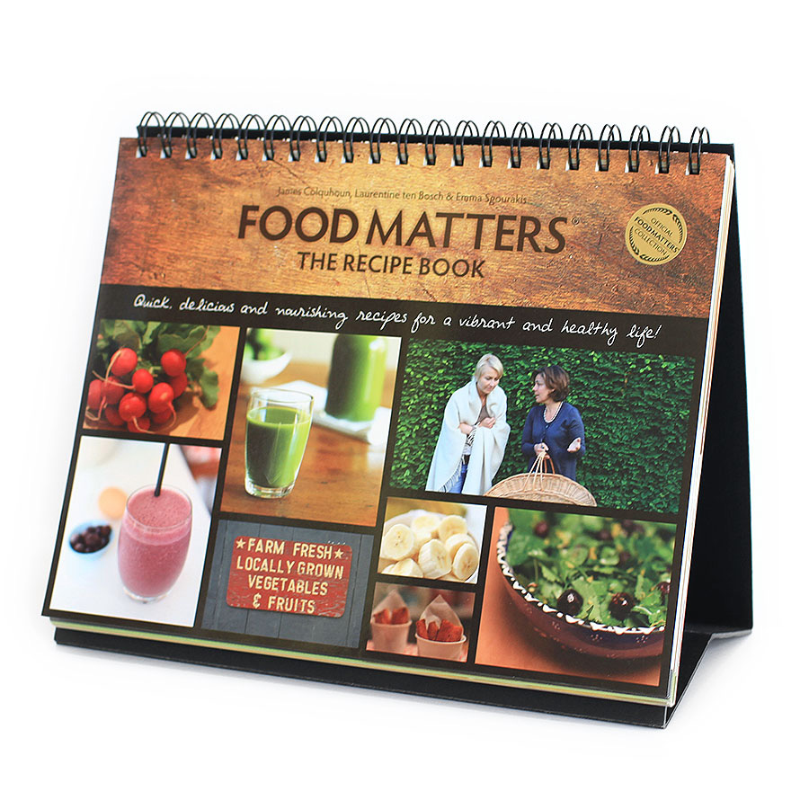 Food Matters Recipe Book - Printed Edition v1