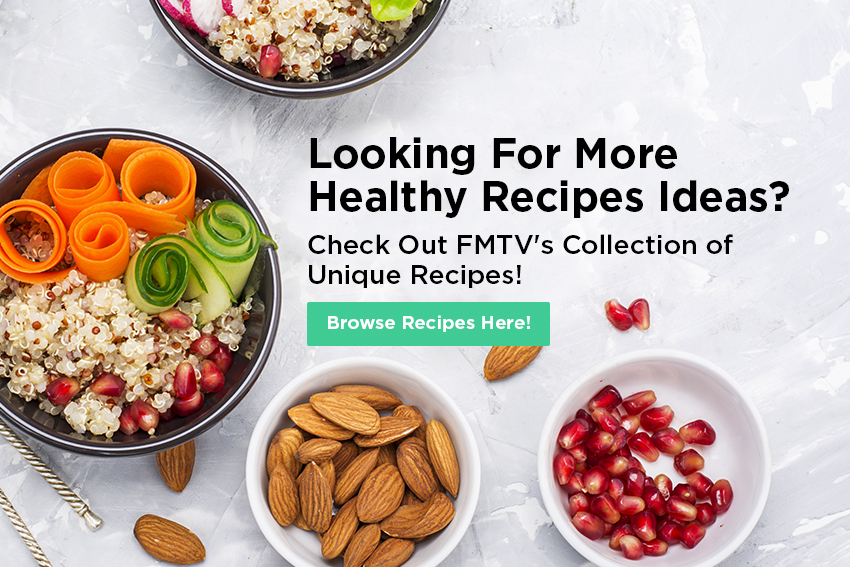 Looking for Healthy Recipe Ideas?