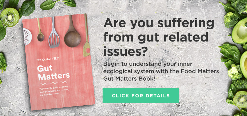 Gut Matters book from Food Matters