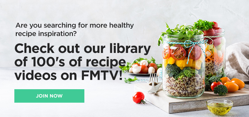 Check Out Our Library Of Inspirational Recipe Videos on FMTV
