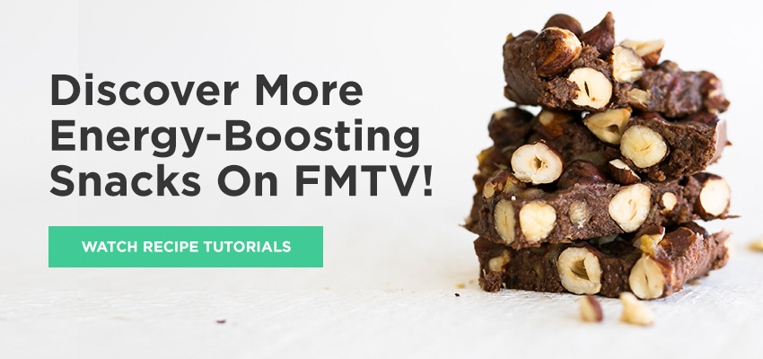 Need more healthy snack ideas?  Check out the recipe videos on FMTV!