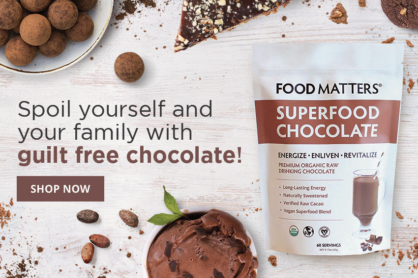 Guilt Free Chocolate Superfood