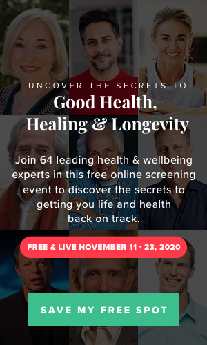 Food Matters Free Screening Event - Uncover the secrets to Good Health, Healing, and Longevity. FREE & LIVE November 11 - 23, 2020.