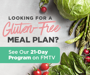 Looking for a gluten-free meal plan? See our 21-Day Program.