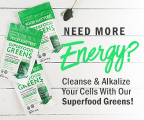 Cleanse & alkalize your cells with our Superfood Greens!