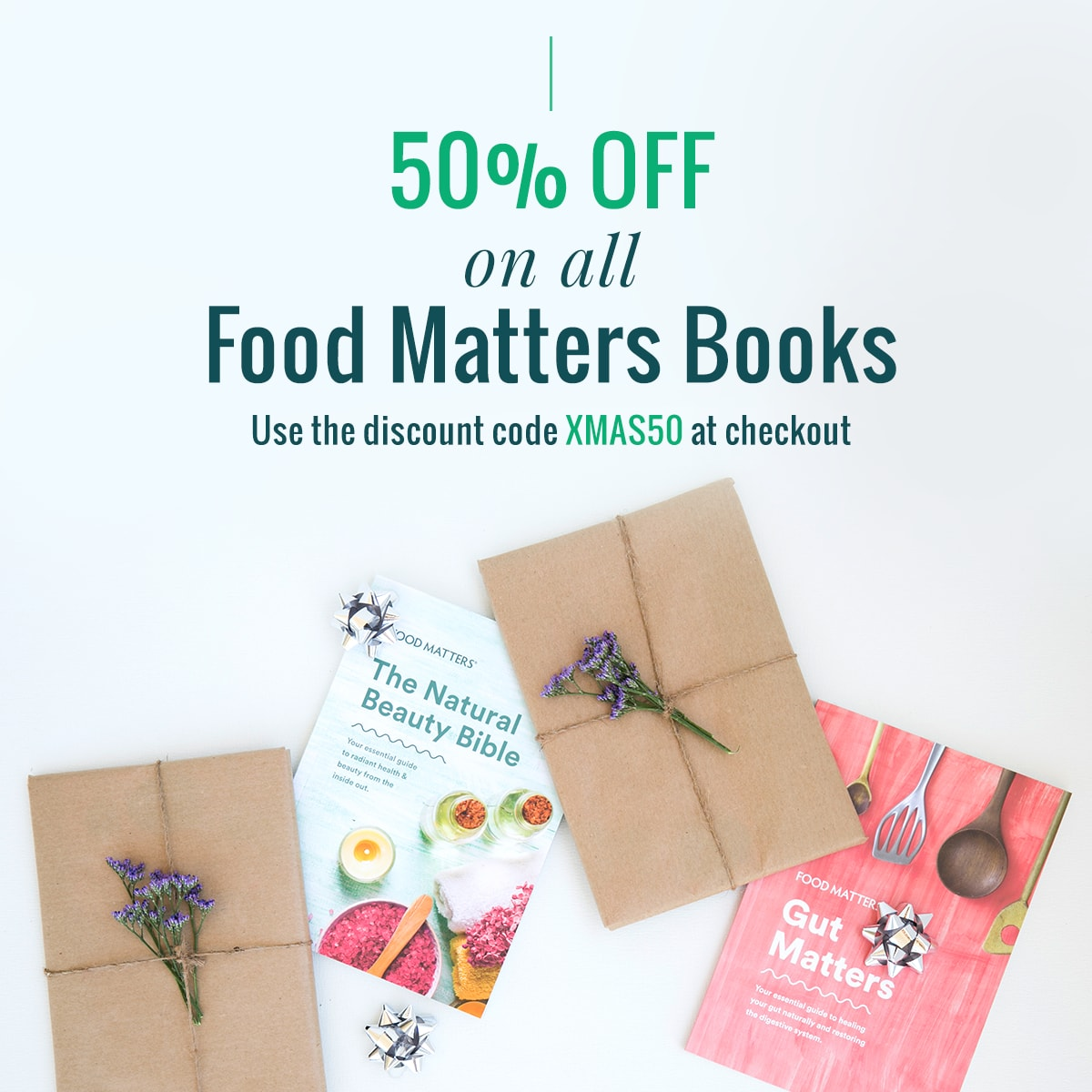The food matters 10 days of christmas food matters get 50 off all food matters printed books for the next 24 hours our collection of healthy books include recipes natural diy recipes cleanse and detox forumfinder Images