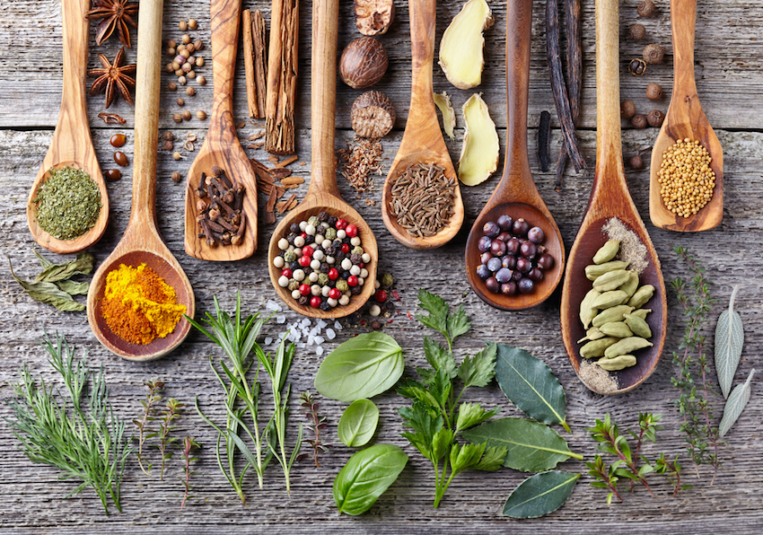study on herbs and spices For any herb or spice listed below, click on the name to read the full description we'll continue adding to this list as we cover more of the seasonings we use in our cooking.