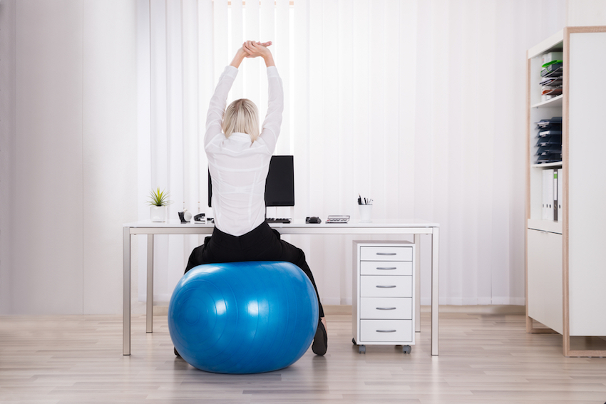 Desk Bound? Try These 7 Tips To Get Active!