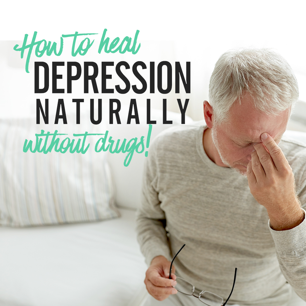 How To Treat Depression Naturally Without Drugs