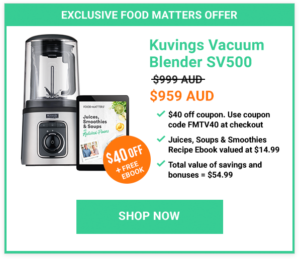 The 2019 Food Matters Blender Buying Guide! | FOOD MATTERS®