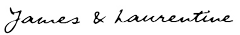 james and laurntine signature