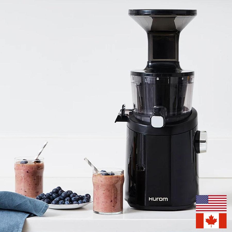 Hurom H101 Easy Clean Slow Juicer (Black) - US/CA model