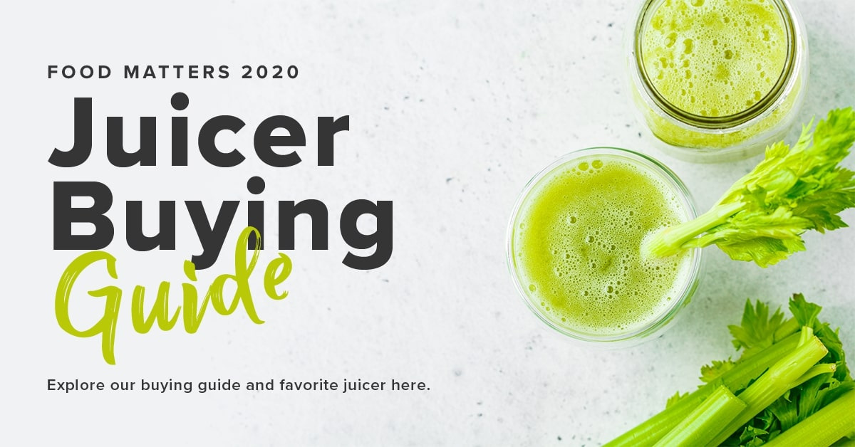 2021 Food Matters Juicer Buying Guide