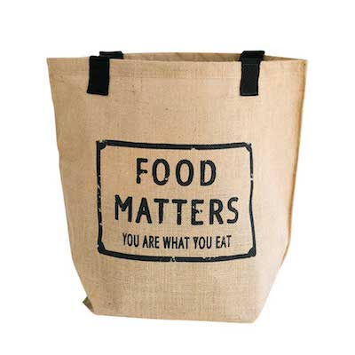 Food Matters Natural Jute Bag