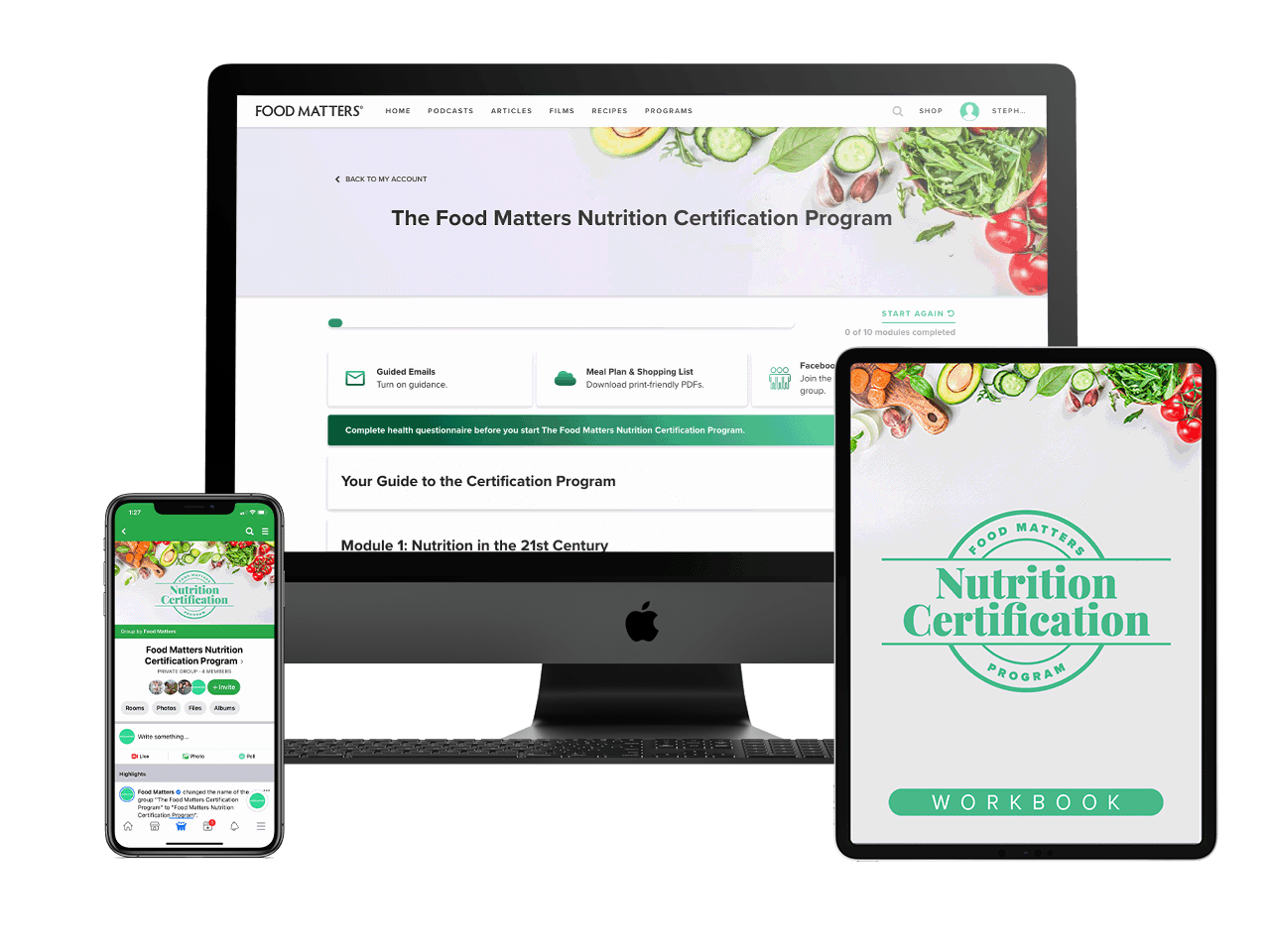 The Food Matters Nutrition Certification Program