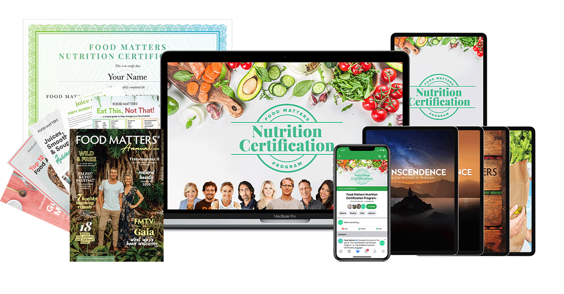 Join The Food Matters Nutrition Certification Program Today!