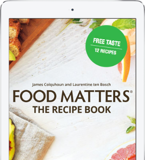 Food Matters Recipe Book Sneak Peek