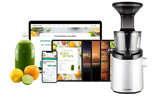 Hurom Juicer + Food Matters Juice Detox Program + Bonuses