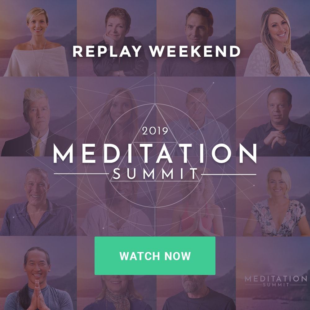 [FREE MEDITATION EVENT] 2019  Meditation Summit | October 1 - 10, 2019 | SAVE MY SPOT