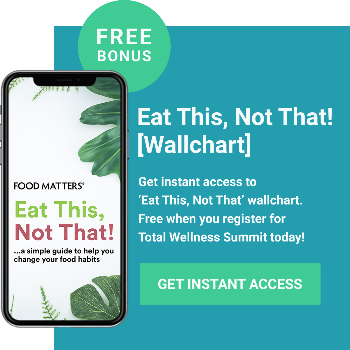 [FREE BONUS] Eat This, Not That! - Get Instant Access