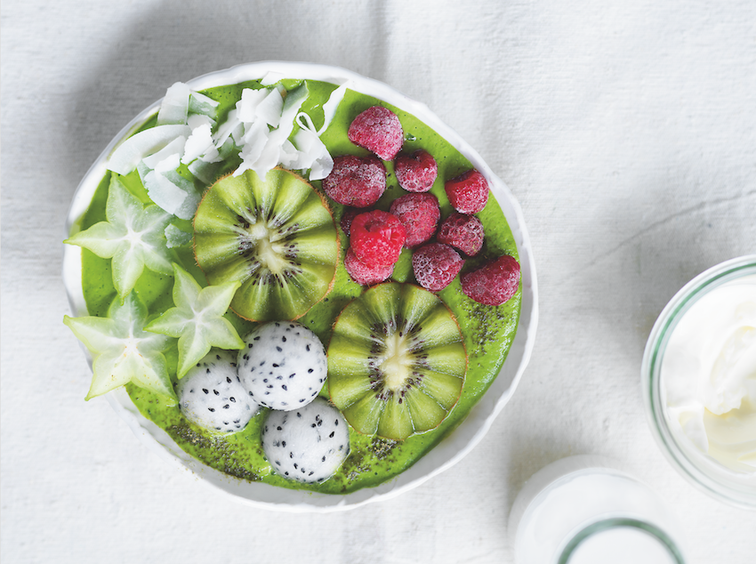Gimme A Little Zing Smoothie Bowl