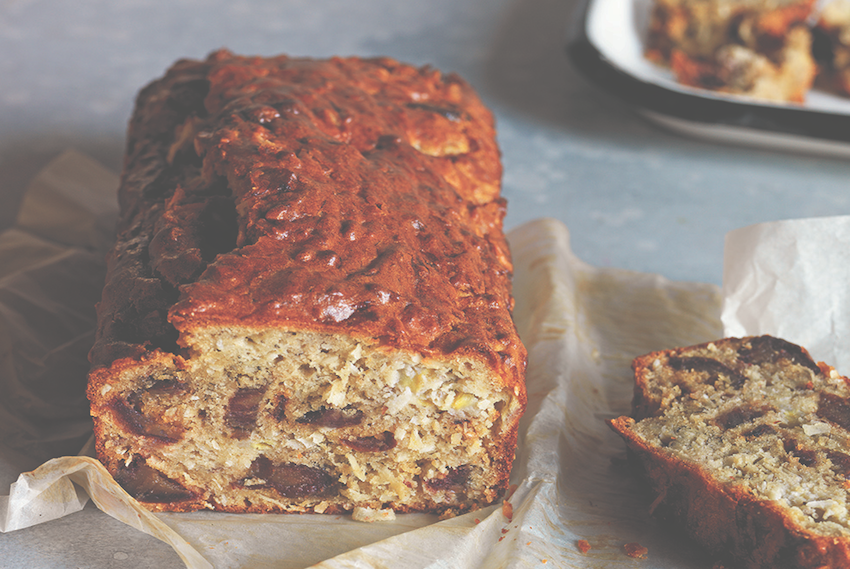 Banana And Coconut Bread
