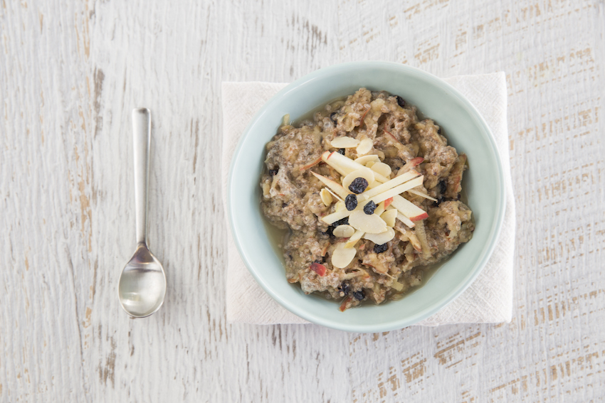 Chia, Cinnamon & Apple Bircher Bowl