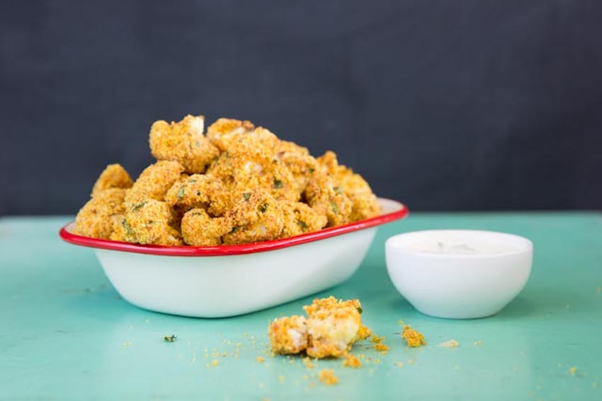 Crispy Cauliflower Nuggets