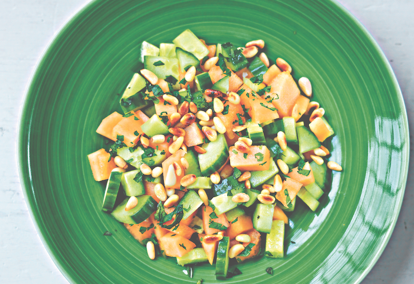 Cucumber and Melon Salad