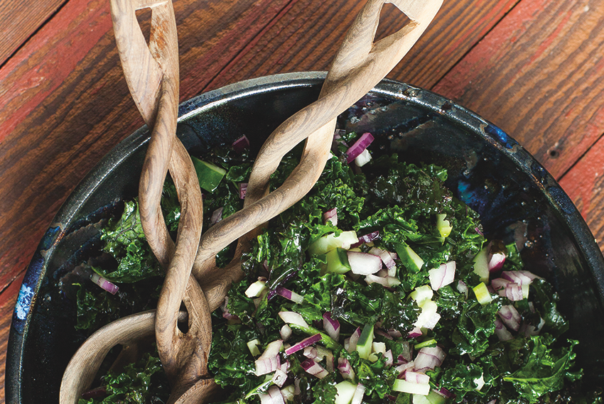 Emerald Kale Salad