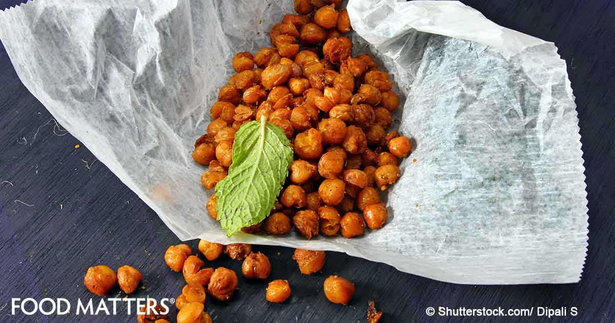 How to Make Crunchy, Roasted Chickpeas Using Healing Herbs And Flavors | FOOD MATTERS®