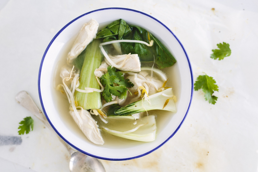 Lemongrass & Ginger Chicken Soup