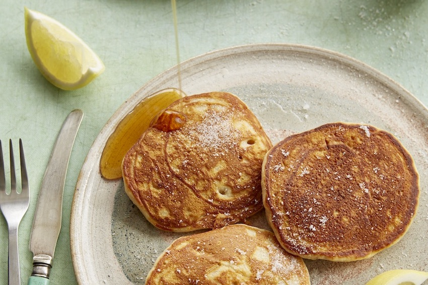 Pear and Ginger Pancakes