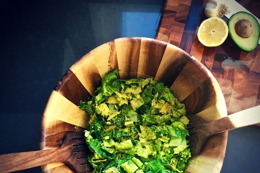 Raw Food That Matters For Your Health And Wellness-Vegan Caesar Salad