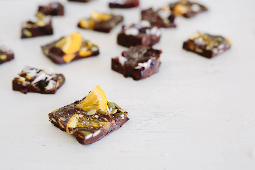 3 Raw Chocolate Bark Recipes For The Holidays!