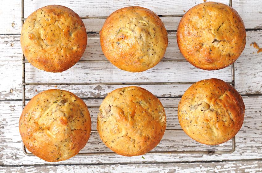Zucchini, Lemon and Poppy Seed Muffins | FOOD MATTERS®