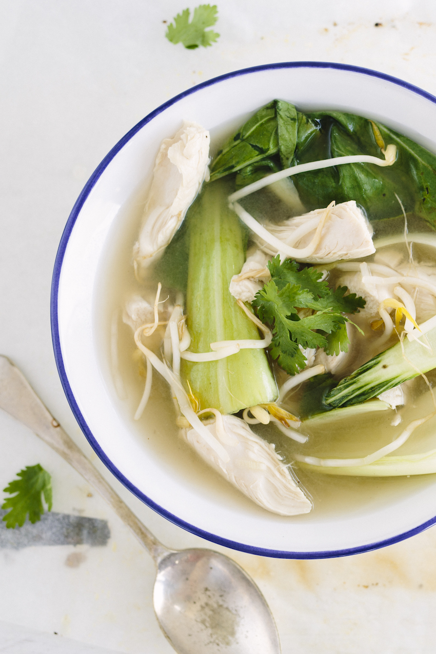 Lemongrass Ginger Chicken Soup Food Matters