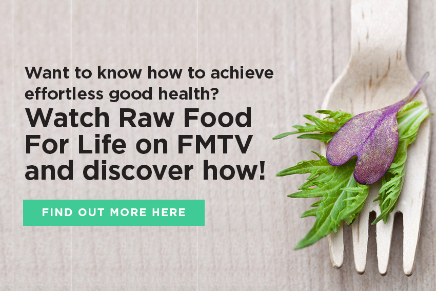Raw Food For Life: Serving Love - an FMTV documentary